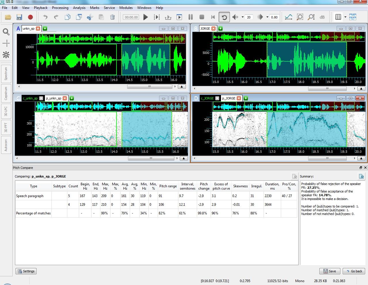 IKAR Lab: Forensic Audio Suite | Speech Technology Center