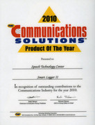 Communication Solutions Product of the Year award