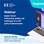 """Join us on webinar """"Digital Clients Onboarding: pitfalls and challenges of e-KYC policy implementation"""""""