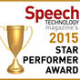 STC Received Star Performer Award by Speech Technology Magazine