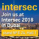 Meet us at INTERSEC 2018 in Dubai!