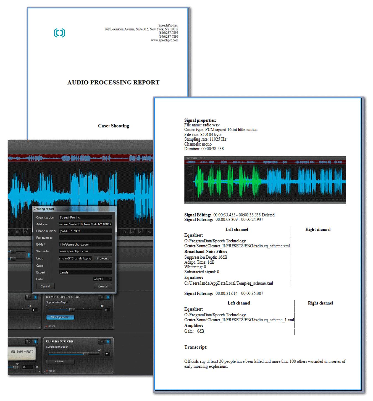 Sound Cleaner II: Comprehensive audio restoration software | Speech
